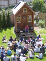 In Dee Williams book, The Big Tiny: A Built-It-Myself Memoir, released on Earth Day, the self-taught carpenter describes the mechanics of erecting a sturdy, rainproof, 84-square-foot tiny house on a trailer.