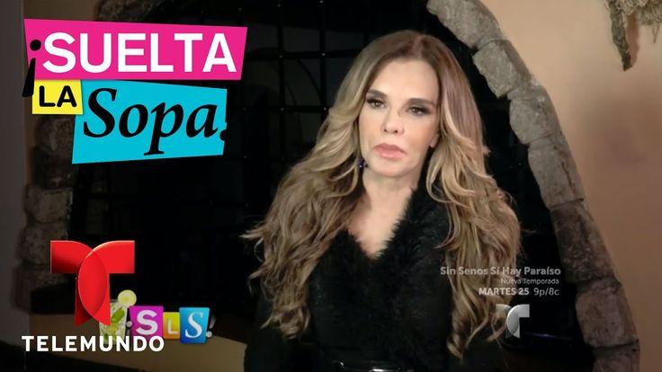 Lucía Méndez aclara si bloqueó la carrera de  Angélica María | Suelta La...