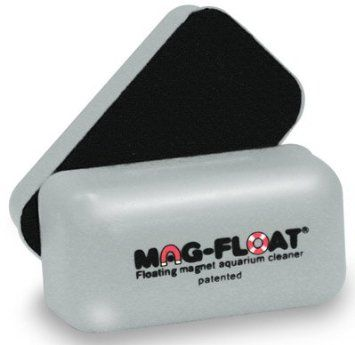 Amazon.com: Gulfstream Tropical AGU030SM Mag-Float Glass Aquarium Cleaner, Small: Pet Supplies