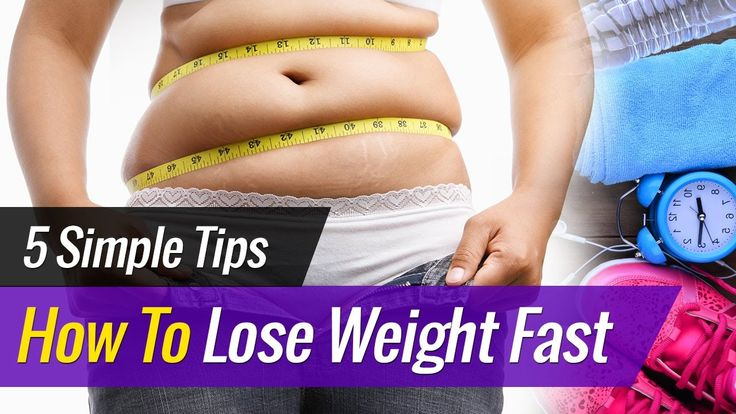 How To LOSE WEIGHT Fast - 5 Simple Tips (Drop One Size)! https://www.youtube.com/watch?v=1XU7hhbG-2g
