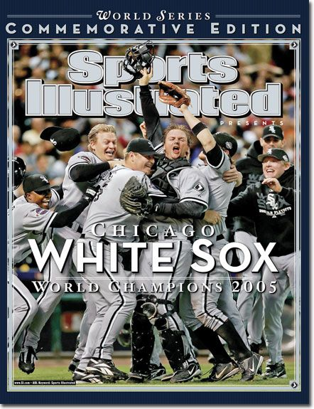 Possibly my favorite Sports Illustrated Cover of all time, which involves the White Sox celebrating on the field after they swept the Houston Astros in the 2005 World Series. Even though it is not particularly an advertisement, it still creates excitement about the White Sox brand.