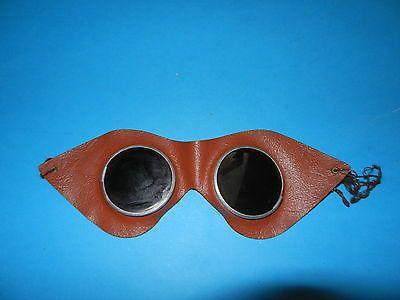 DDR Schutzbrille  Motorradbrille Schweißerbrille Schweißer Brille Mopedbrille/69