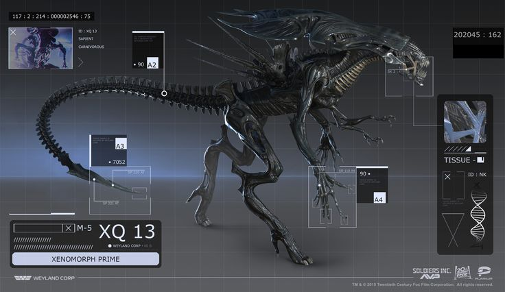 This is a alien queen 3D Model i created  for the AvP™ event in Plarium's Soldiers Inc.™  Artwork was created and shared under a licensed collaboration between Plarium Global Ltd. and 20th Century Fox.  TM & © 2015 Twentieth Century Fox Film Corporation. All rights reserved.