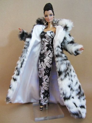 Poppy Dolls Clothing | Coat Clothes Dress Outfit Gown Silkstone Barbie Fashion Royalty Poppy ...