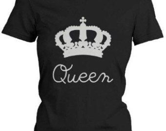 Queen shirt:   This listing is for one shirt.  Shirt design can be done in any style shirt; tank top, razorback loose fit tank top, v-neck or crew neck.  Please in note to seller include the shirt style you would like.  If you have any questions, please ask :)