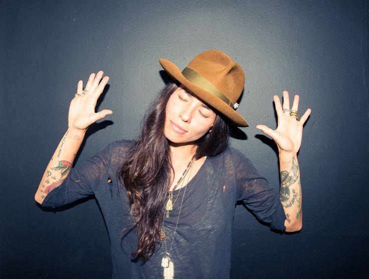 hat, black, rings,Tasya Van Ree via the coveteur