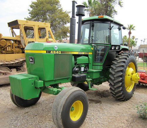 Used John Deere 4640 Tractor