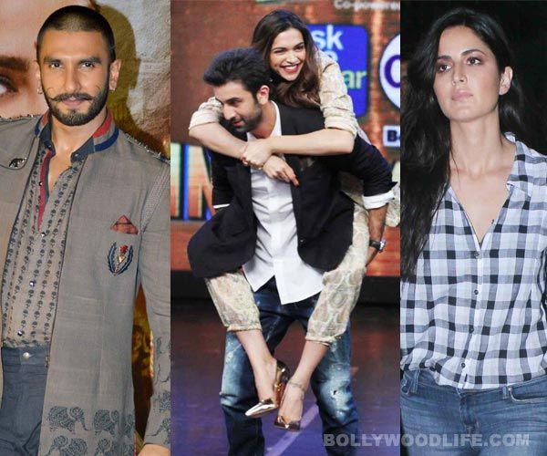 Ranveer Singh and Katrina Kaif seriously UPSET with Ranbir Kapoor and Deepika Padukones Tamasha love!