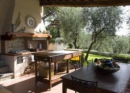 36 best Rustic Outdoor Kitchens images on Pinterest | Outdoor ...
