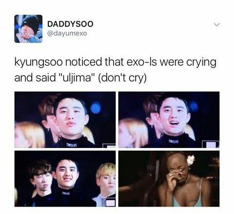 Me crying noe