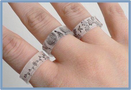 プラ板で指輪!プラバンリングの作り方とコツ!