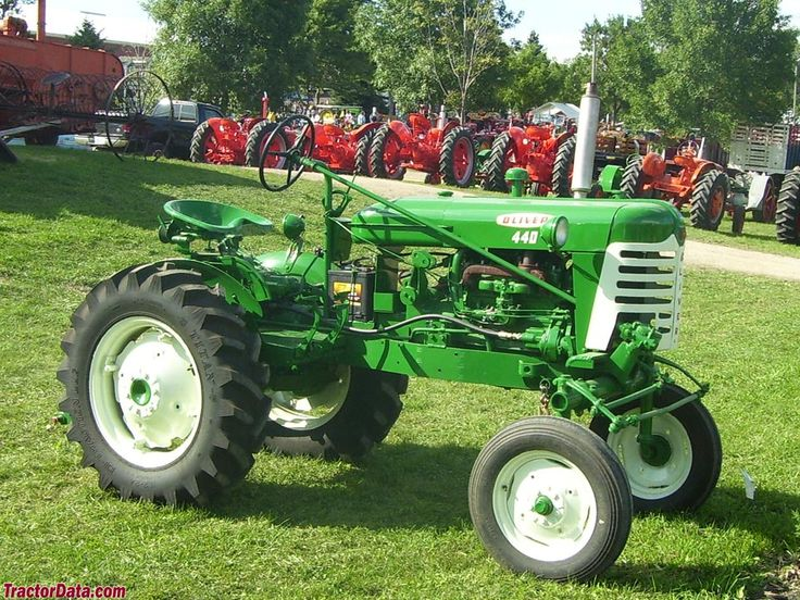 Oliver Tractor Decals : Best images about offset tractors on pinterest power