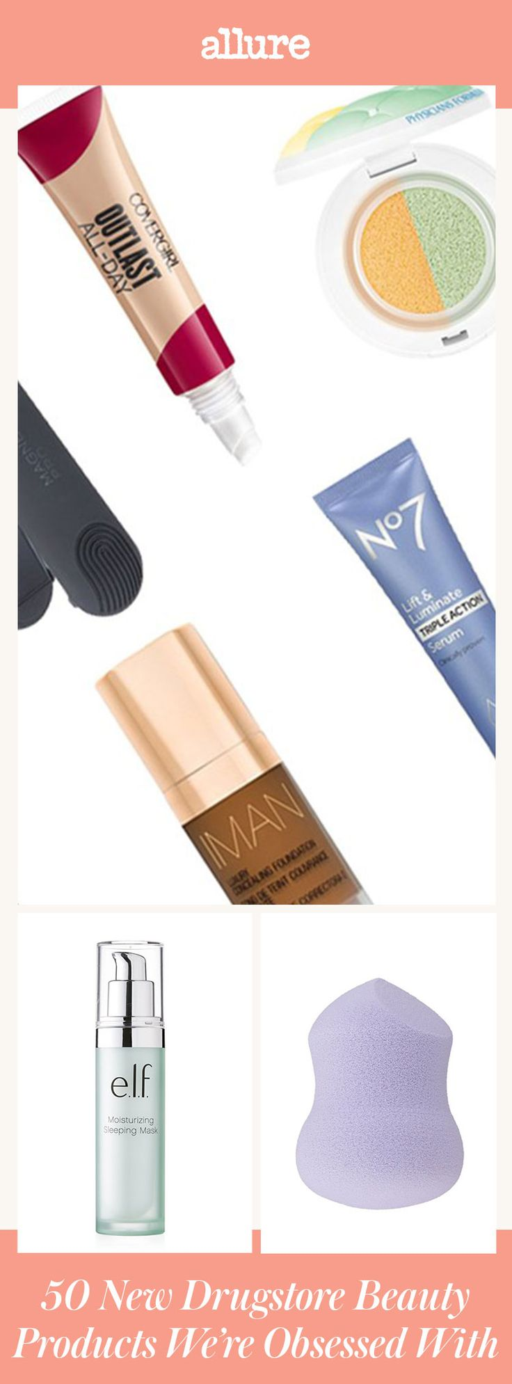 We swiped, spritzed, and tested all the launches to bring you the absolute best new drugstore foundations, mascara—you name it—that you just have to try this year.