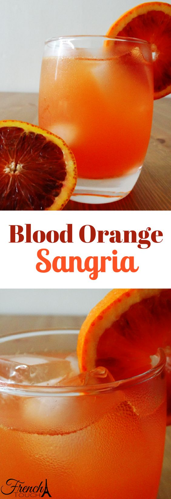 A refreshing summer drink! This sangria is a made with blood orange san pellegrino and white wine! The perfect drink for a party or just chill at home!