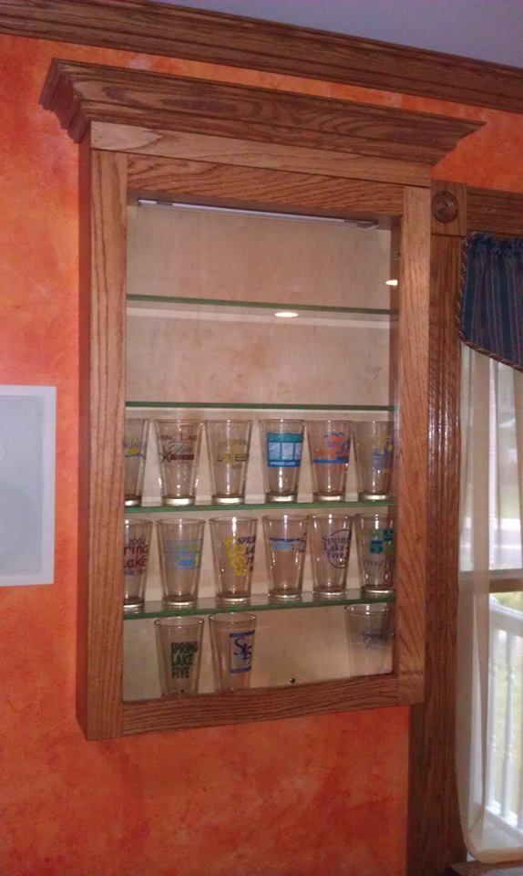 7 best Pint Glass project images on Pinterest | Display cases ...