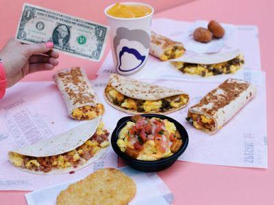 Taco Bell Unveils $1 Breakfast Value Menu | Brand Eating