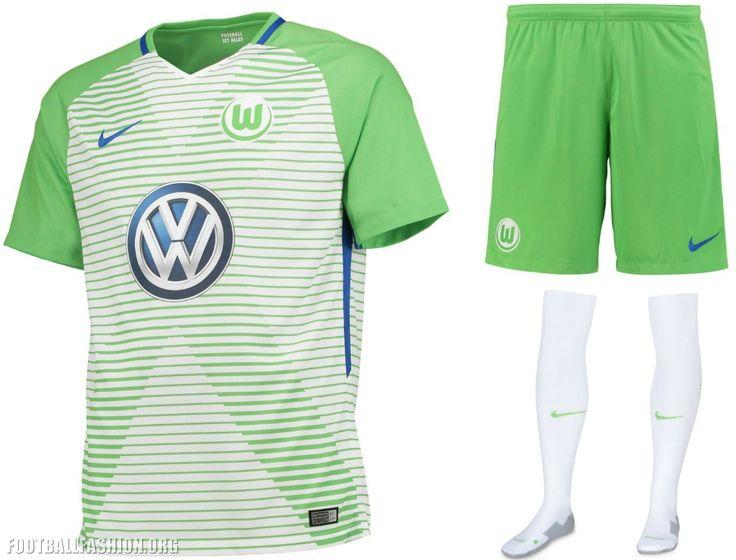 VfL Wolfsburg 2017 2018 Nike Home, Away and Third Football Kit, Soccer Jersey, Shirt, Trikot, Heimtrikot, Auswärtstrikot