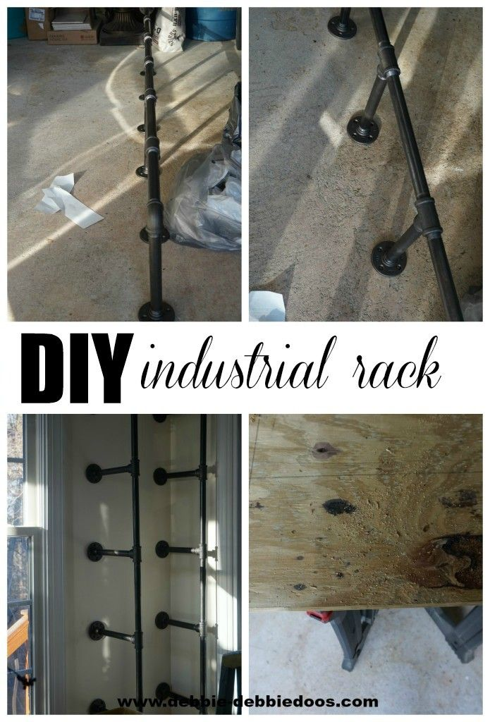 how to build mulitple rack shelf