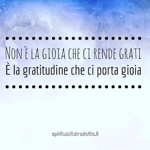 Chi Di Voi Esprime Gratitudine Regolarmente Gratitudine Gioia