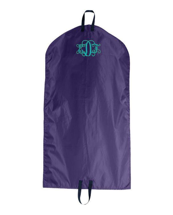 Monogrammed Garment Bag, Hanging Garment Bag, Personalized Garment Bag, Custom Garment Bag, Clothes Bag, Nylon Garment Bag by cre8ivgifts on Etsy https://www.etsy.com/listing/216861093/monogrammed-garment-bag-hanging-garment