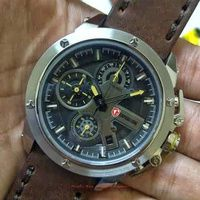 Jam Tangan Expedition E 6603 Silver Dark Brown