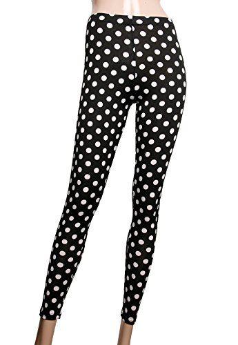 Women's Plus Size High Quality Printed Leggings(L9P044_La... http://a.co/174zxzZ