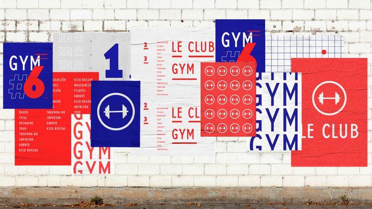 Le Club Gym — Identidad on Behance