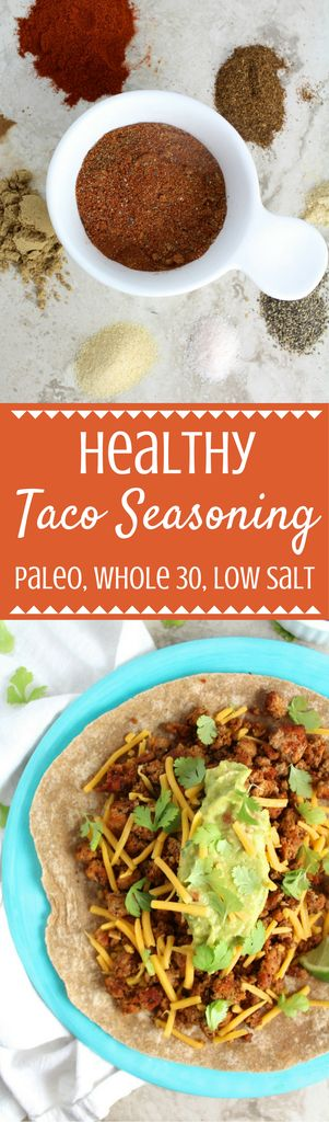 Healthy Taco Seasoning - The Clean Eating Couple