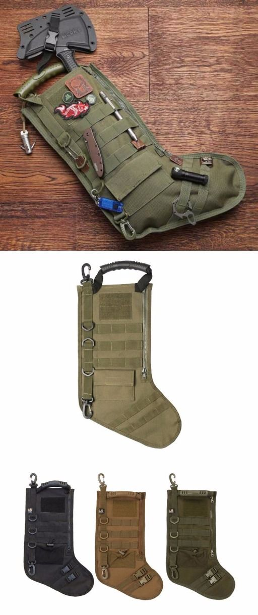 Tactical Christmas Stocking with Molle @thistookmymoney