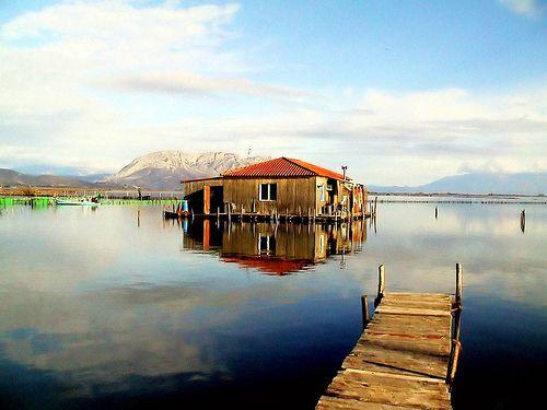 https://flic.kr/p/5WhVAA |  Δυτική Ελλάδα - Αιτωλοακαρνανία - Δήμος Ιεράς Πόλης Μεσολογγίου Πελάδα στη λιμνοθάλασσα
