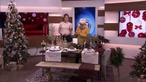 In case you missed it, here's the clip of Lynn Spence talking about Christmas tablescapes, using Wicker Emporium decor, on BT Toronto this morning!