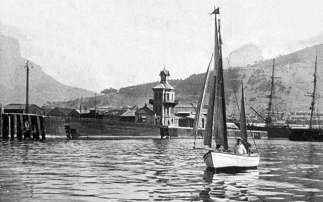 Commodore H. Warrington Smyth Esq. sailing near the clocktower 1919 | Flickr - Photo Sharing!