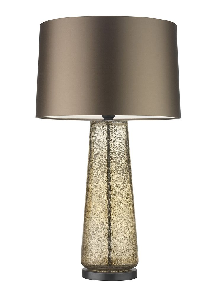 """The Cauis lamp is a beautifully textured, mould blown glass piece. The gentle golden hue of the Champagne finish and stippled surface effect give the lamp an air of luxury and grandeur. This design is individually crafted and will vary from piece to piece DETAILS Base Code: ZFY/G/CAIS/CHMP/BNZ Shade: 16"""" Roman Drum Premium Satin Bronze …"""