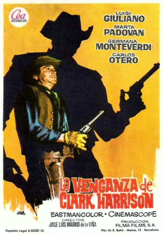 La Venganza De Clark Harrison 1966 Tt0059863 Esp Pps Jose Luis Venganza Cine