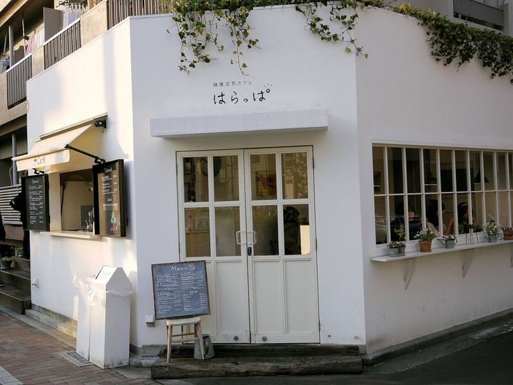 Needs a swish of paint for color and some gorgeous flowers outside! Then this would be the best breakfast cafe in town!!