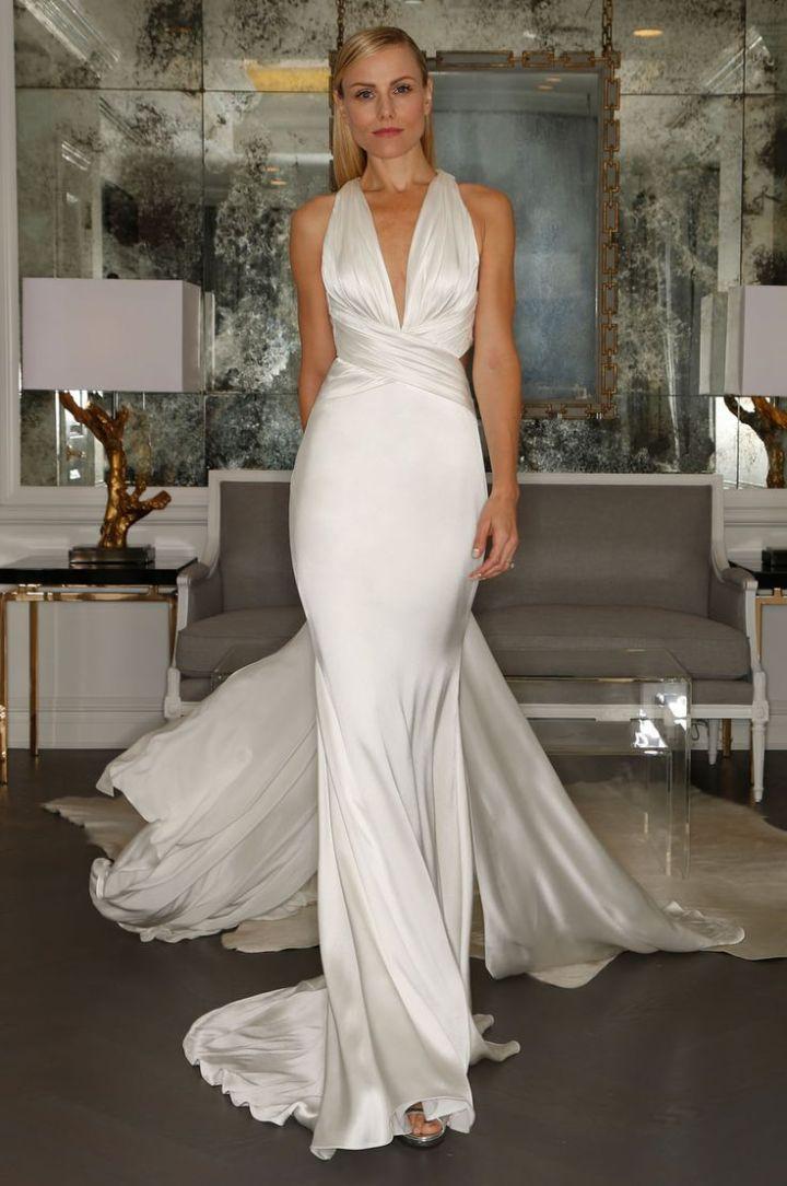 http://www.modwedding.com/2014/10/31/romona-keveza-wedding-dresses-2015-collection-unparalleled-fit/ #wedding #weddings #wedding_dress