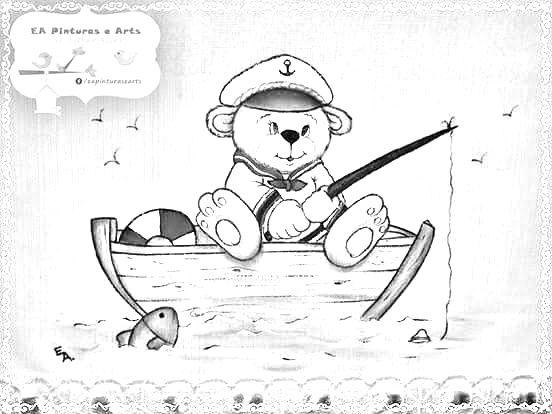 Desenhos Da Minnie Para Pintar Em Tecido: Super Desenhos Para Pintar Em Tecido Para Bebe AV09