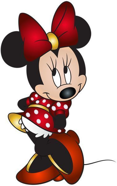 Minnie Mouse Free PNG Clip Art Image