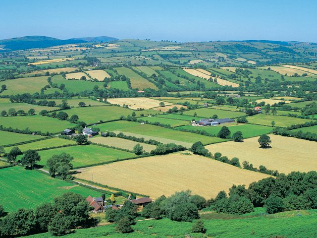 Shropshire... Love this view looks like a patchwork quilt so typically shropshire.