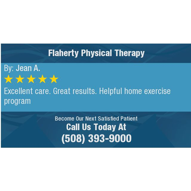 Excellent care. Great results. Helpful home exercise program