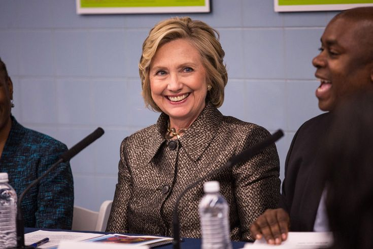 Hillary Clinton is running for president of the United States - Photo 1   Celebrity news in hellomagazine.com