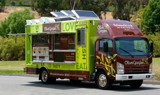 Olive Garden Is Entering the Food Truck Business Starting This Month in New York City   The Daily Meal