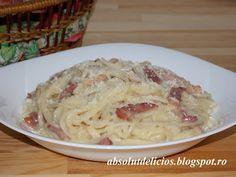 Absolut Delicios - Retete culinare: SPAGHETE CARBONARA