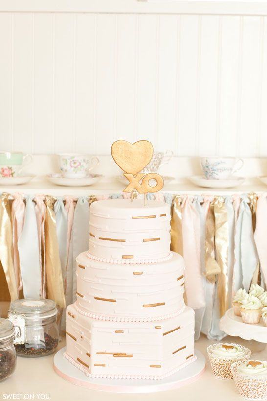 The Perfect Blend   Dessert Table Inspiration   featuring cakes by Sweet On You