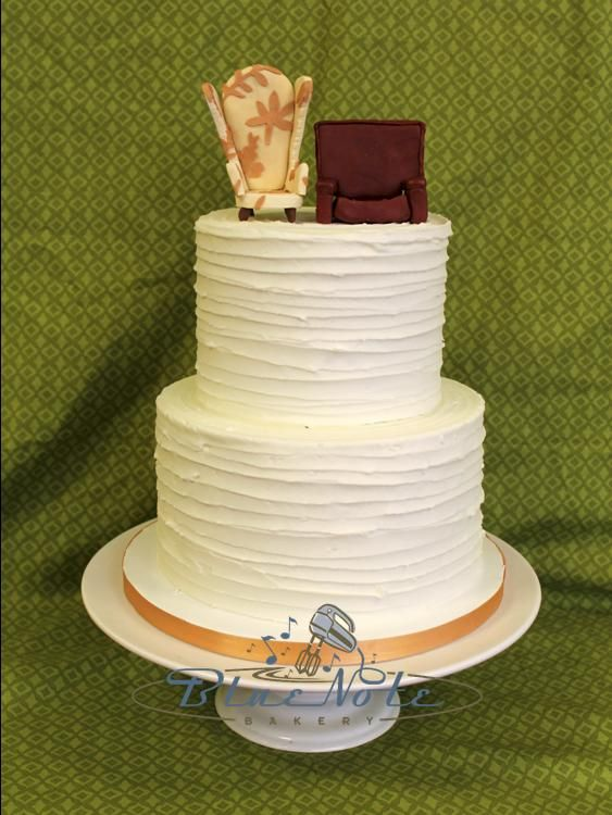 up chairs wedding cake topper lateral striped buttercream with chair toppers from the 21503
