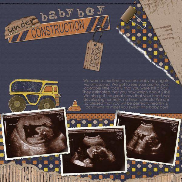 Show me your ultrasound pages... - DigiShopTalk Digital Scrapbooking
