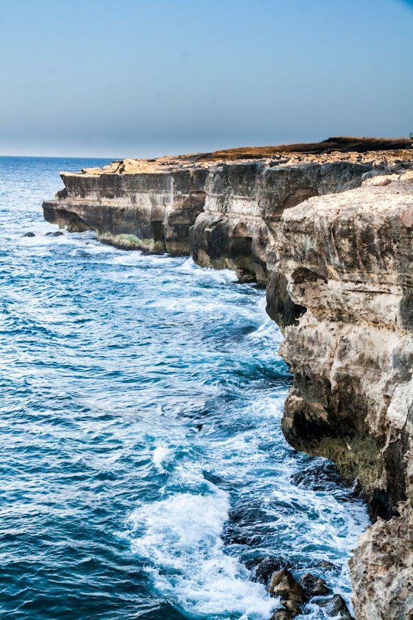 Sea Cliffs, Lecce, Puglia, Italy