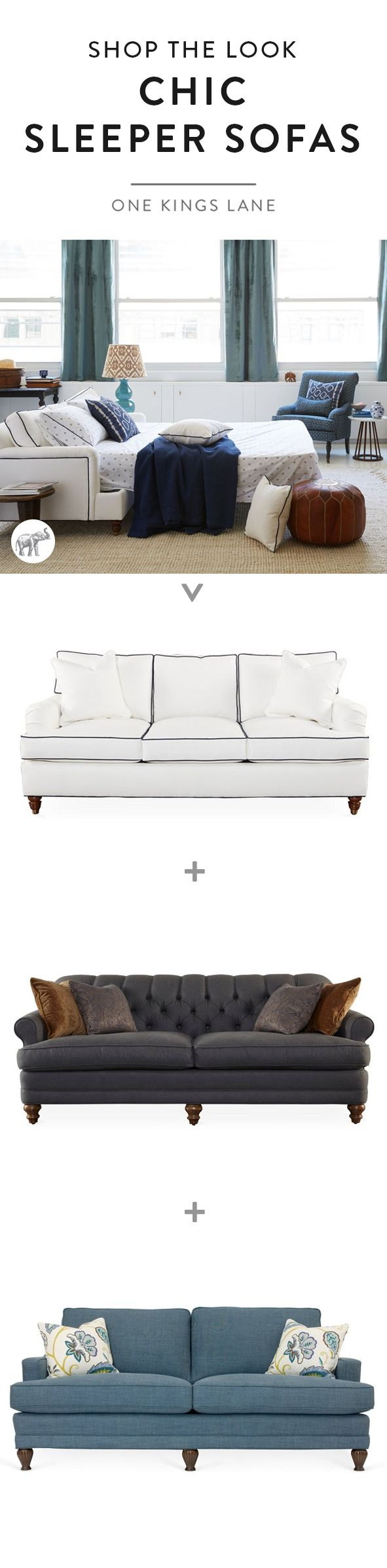 Meet The Ultimate Multitasker: The Sleeper Sofa! These Pieces May Just Be  The Ultimate In Multi Functional Home Decor And Will Turn Any Room Into An  Instant ...