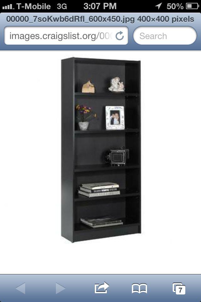 Bookshelf On Craigslist $30 For Living Room