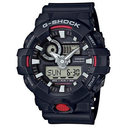 Veja Relógio GA-700 G-Shock Analógico Digital Preto e Vermelho e outros productos na Netshoes